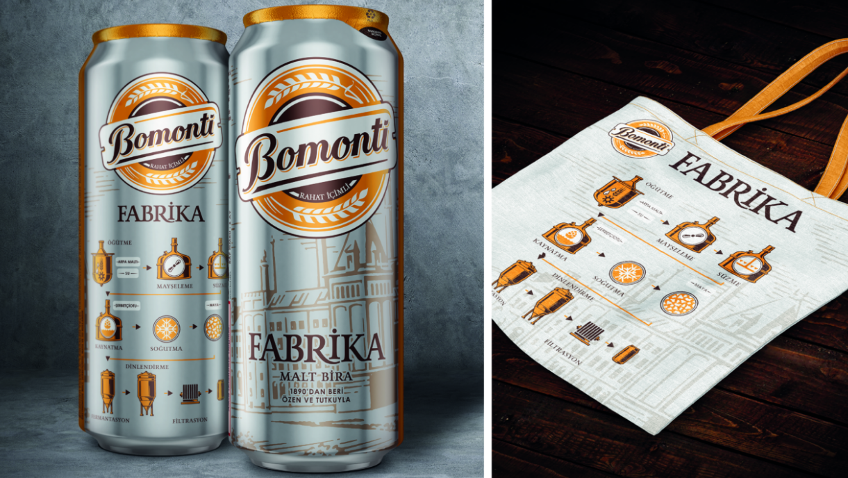 Bomonti - making beer our own way.